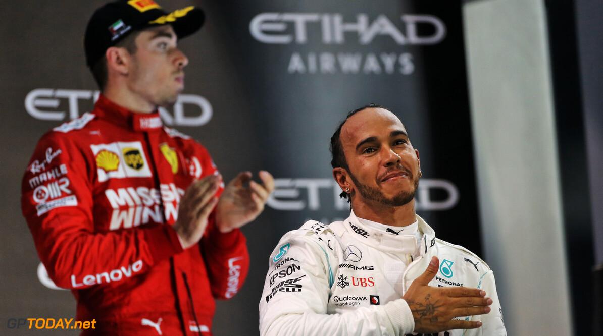 Leclerc zou geen problemen hebben met Hamilton als teamgenoot bij Ferrari