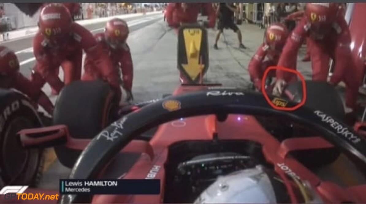 Waarom een van de Ferrari-monteurs een handschoen miste tijdens pitstop in Abu Dhabi