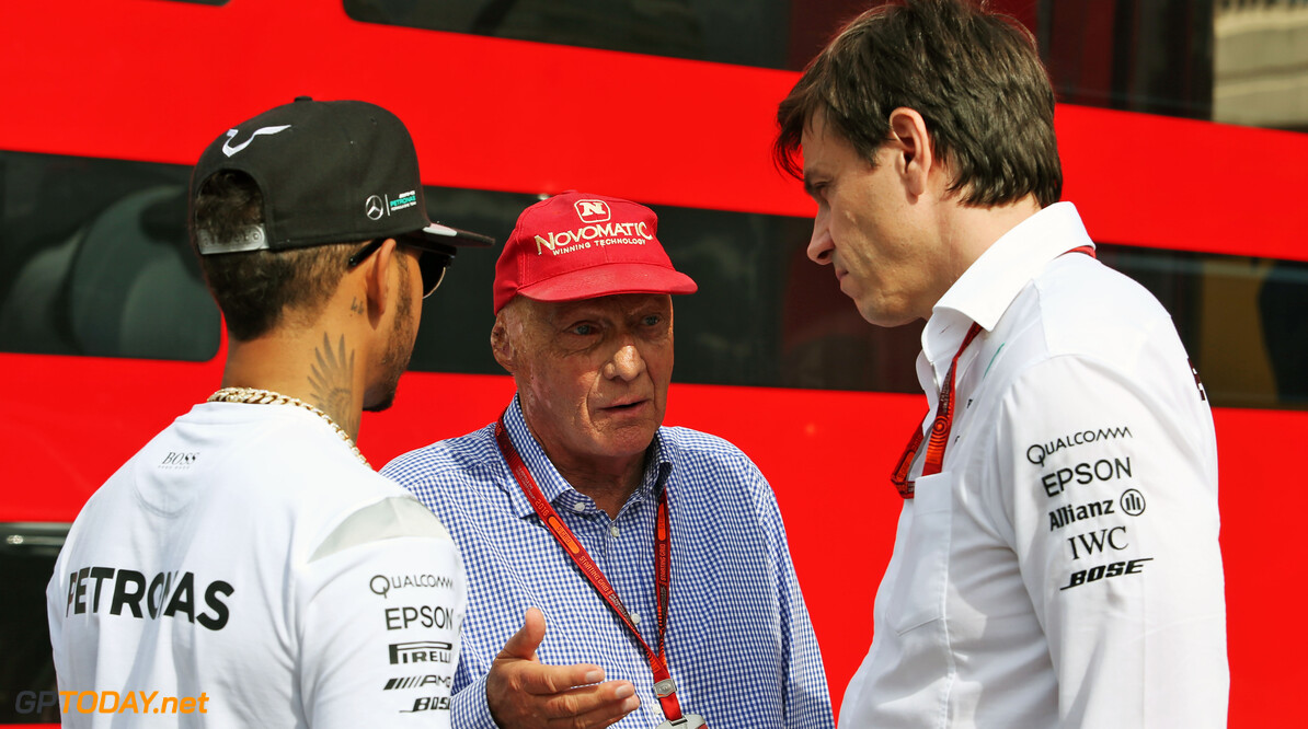 Wolff: Running Mercedes is less fun without Lauda