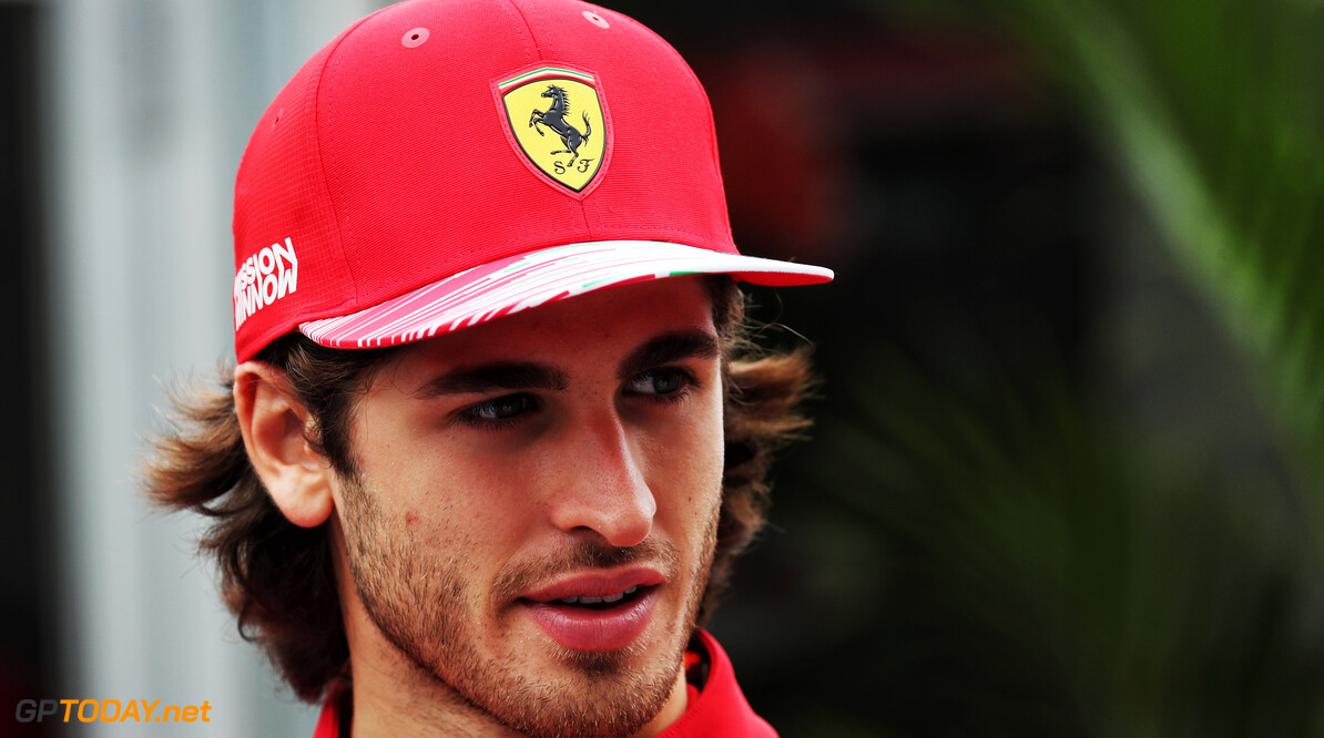 Binotto: Giovinazzi must improve to be considered by Ferrari