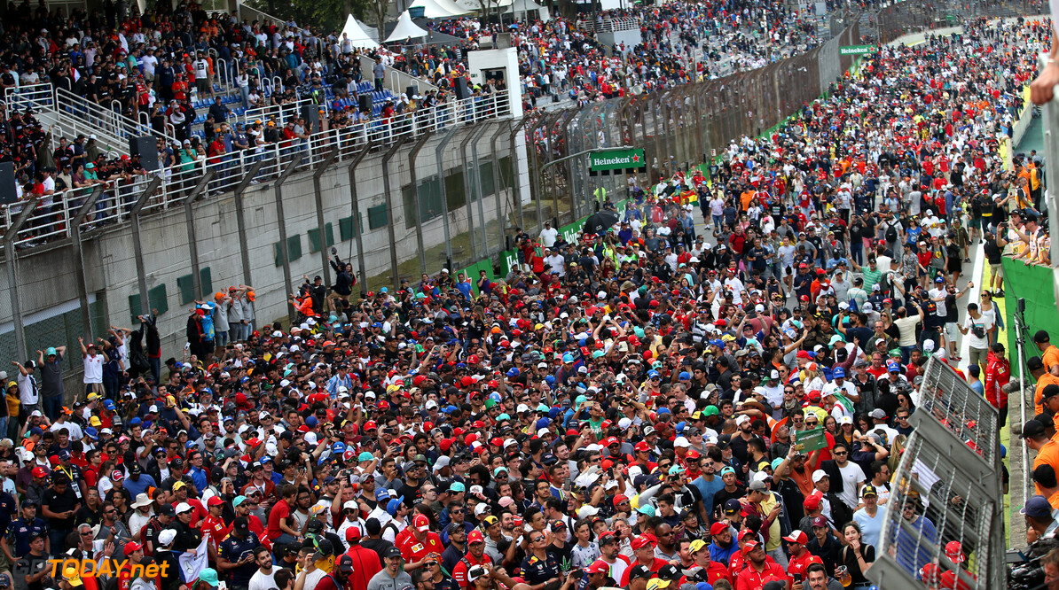 2019 F1 race weekend attendance up by 1.75% compared to 2018