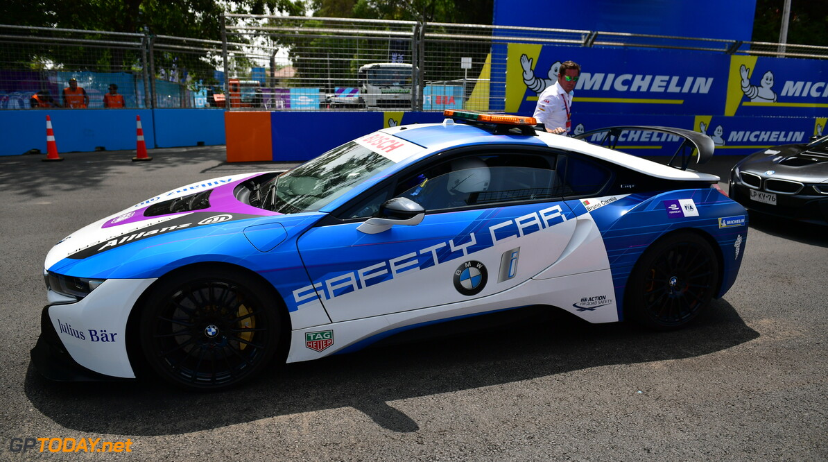 Media Laps in the BMW i8 Safety car   Simon Galloway