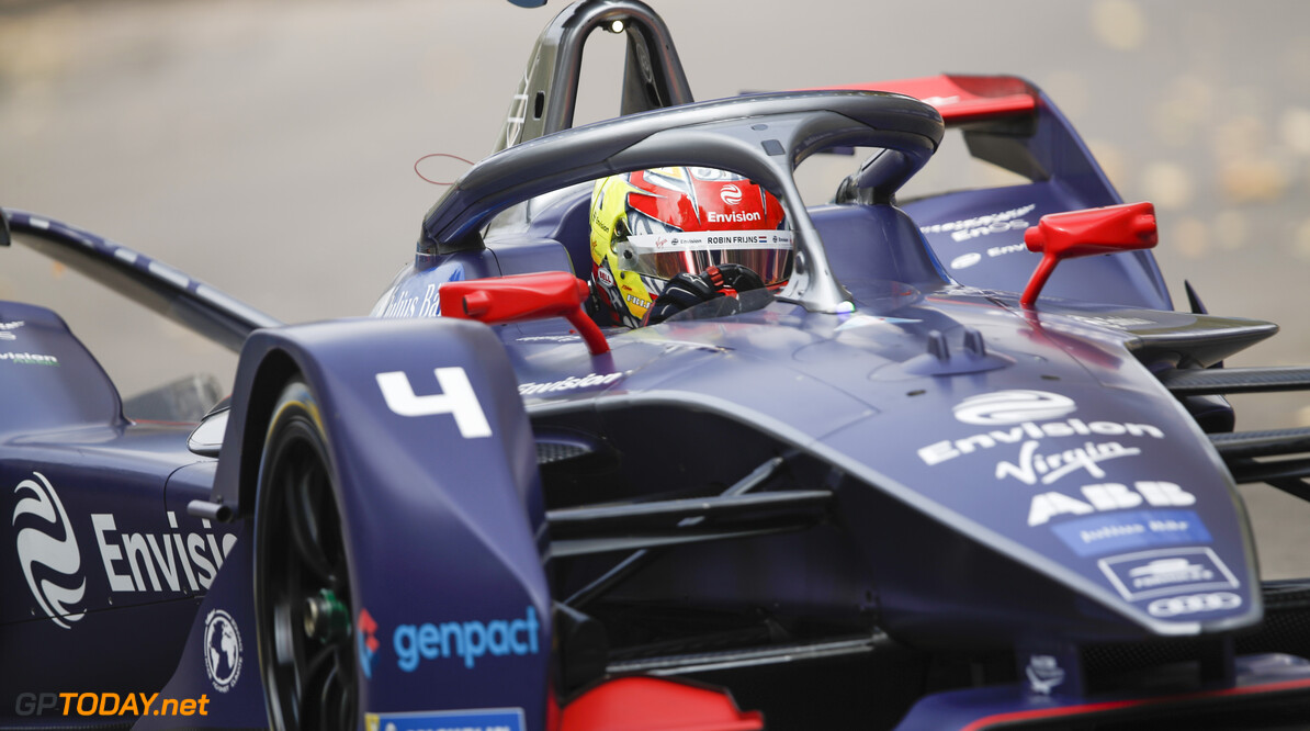 Robin Frijns (NLD), Envision Virgin Racing, Audi e-tron FE06   Joe Portlock    action