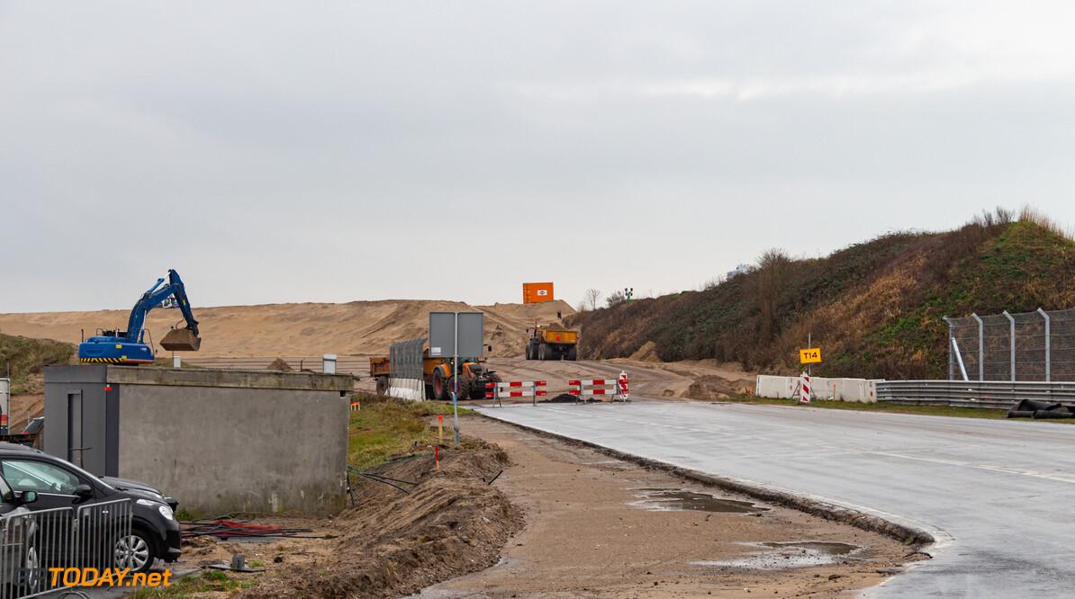 Arie Luyendijkbocht op Zandvoort wordt voorzien van speciaal asfaltmengsel