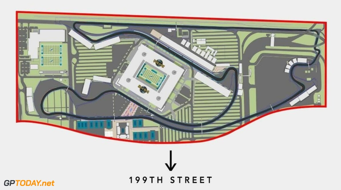 <b>Video:</b> A lap of the new proposed F1 Miami GP track