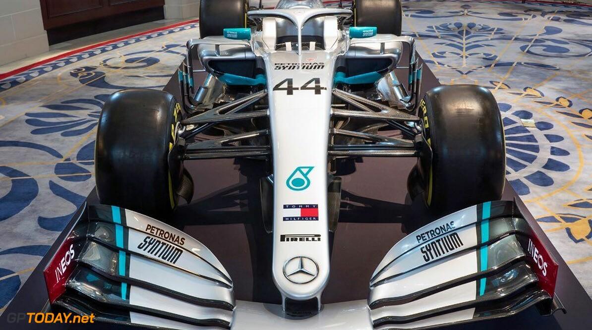 Mercedes presenteert nieuwe livery met INEOS als nieuwe hoofdsponsor