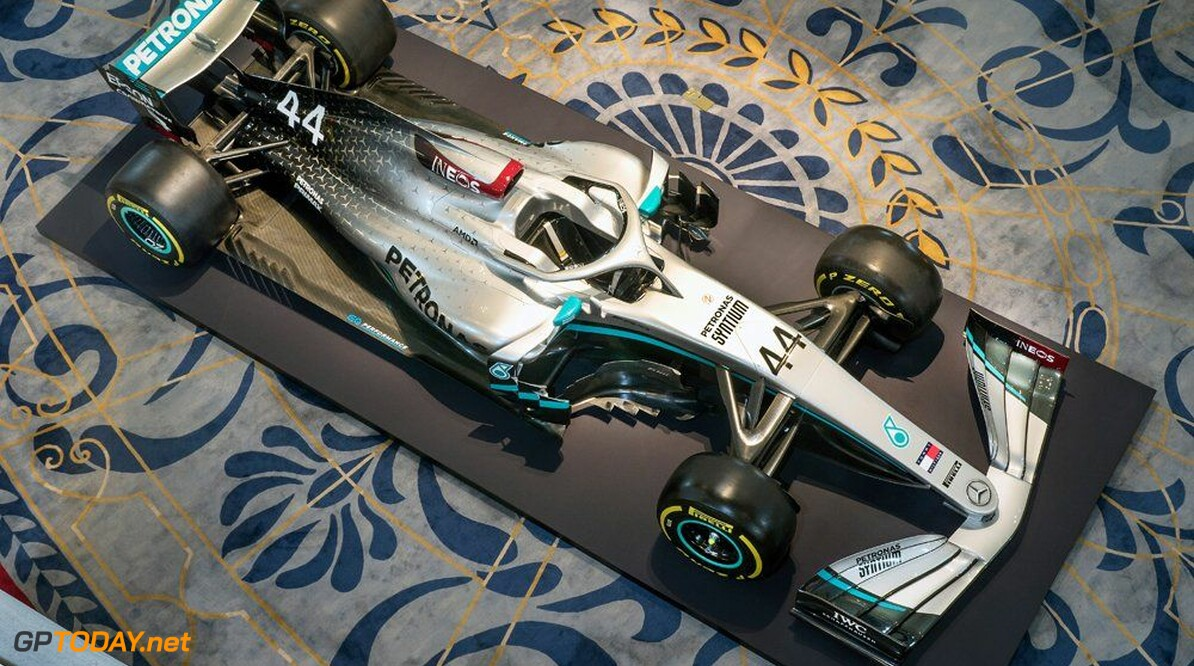 Mercedes launches 2020 W11 livery