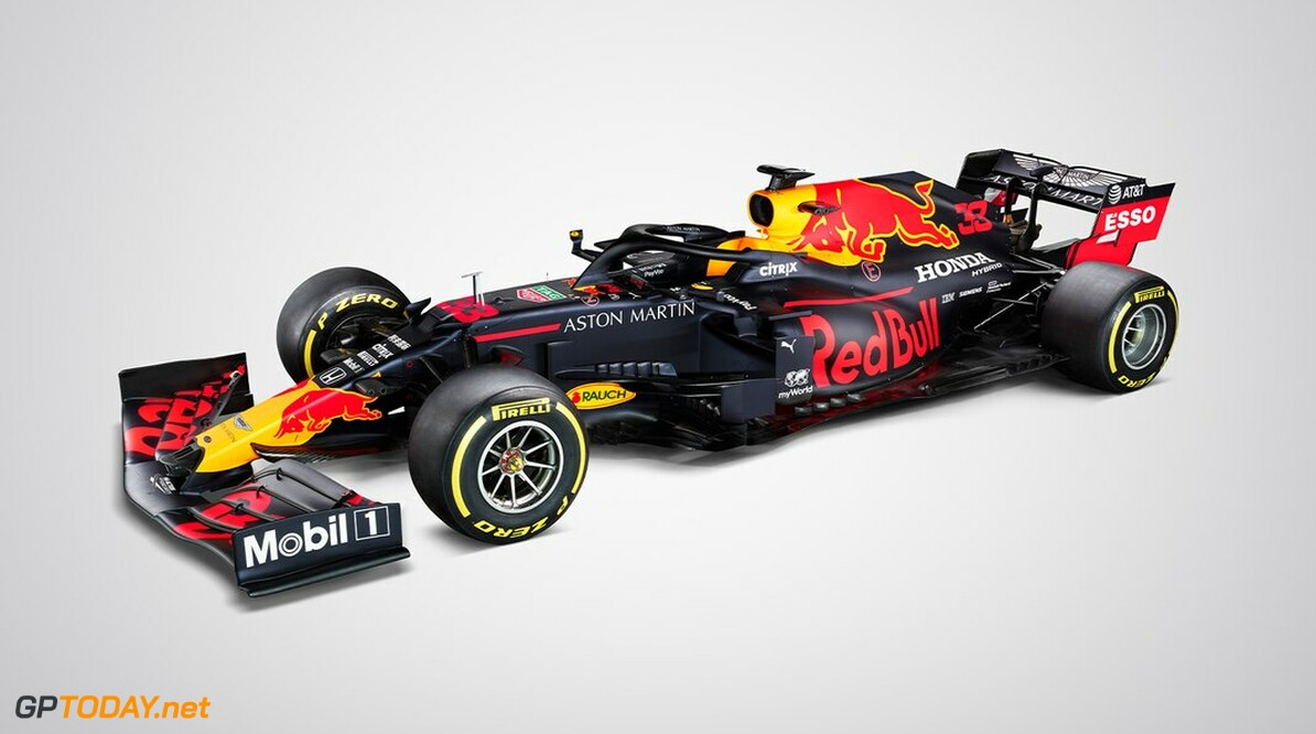 <b>Foto</b>: Dit is de Red Bull RB16 van Max Verstappen en Alexander Albon