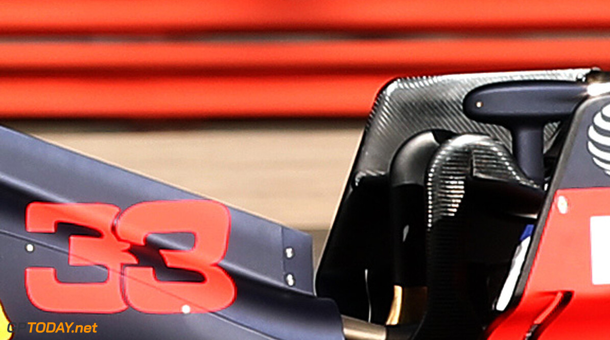 NORTHAMPTON, ENGLAND - FEBRUARY 12: Max Verstappen of the Netherlands driving the (33) Aston Martin Red Bull Racing RB16 during the Red Bull Racing RB16 launch at Silverstone Circuit on February 12, 2020 in Northampton, England. (Photo by Bryn Lennon/Getty Images) // Getty Images / Red Bull Content Pool  // AP-233AF1Y2D2111 // Usage for editorial use only //  Red Bull Racing RB16 Launch     AP-233AF1Y2D2111