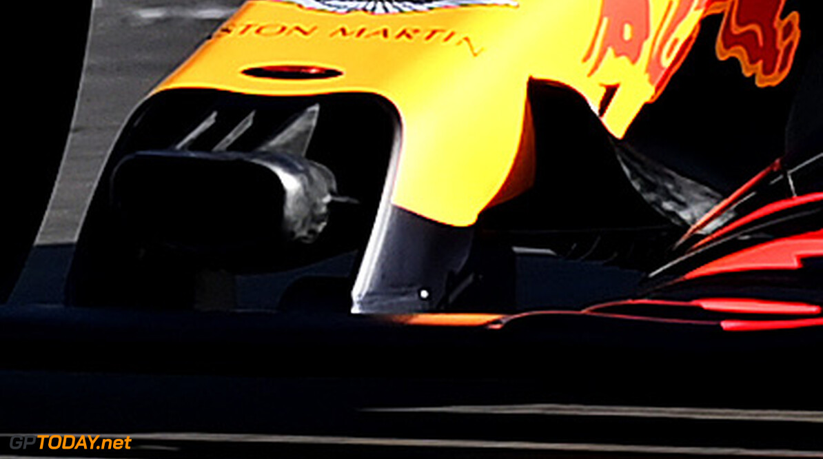 NORTHAMPTON, ENGLAND - FEBRUARY 12: Max Verstappen of the Netherlands driving the (33) Aston Martin Red Bull Racing RB16 during the Red Bull Racing RB16 launch at Silverstone Circuit on February 12, 2020 in Northampton, England. (Photo by Clive Mason/Getty Images) // Getty Images / Red Bull Content Pool  // AP-233AF1X2N2111 // Usage for editorial use only //  Red Bull Racing RB16 Launch     AP-233AF1X2N2111