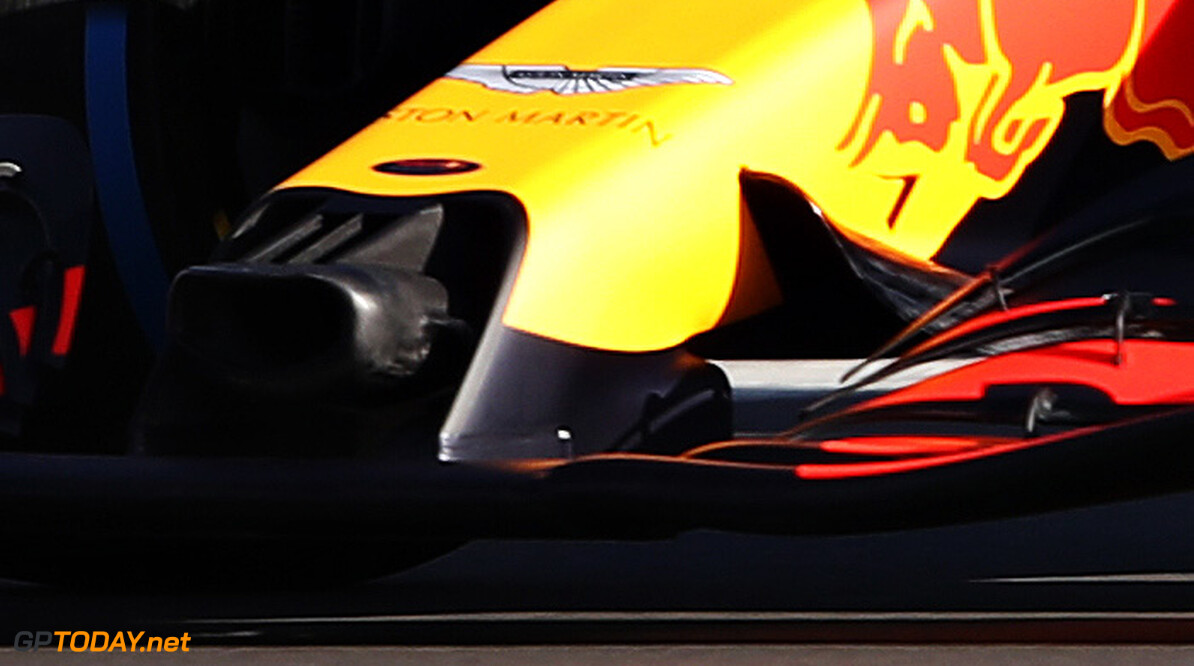 NORTHAMPTON, ENGLAND - FEBRUARY 12: Max Verstappen of the Netherlands driving the (33) Aston Martin Red Bull Racing RB16 during the Red Bull Racing RB16 launch at Silverstone Circuit on February 12, 2020 in Northampton, England. (Photo by Bryn Lennon/Getty Images) // Getty Images / Red Bull Content Pool  // AP-233AF1VY12111 // Usage for editorial use only //  Red Bull Racing RB16 Launch     AP-233AF1VY12111