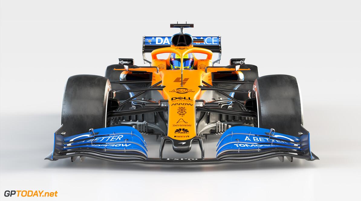2020 MCL35 Lando Norris_Front 3 BAT branded      MCL35 2020 papaya vega mclaren lando norris 4 racing car launch partners