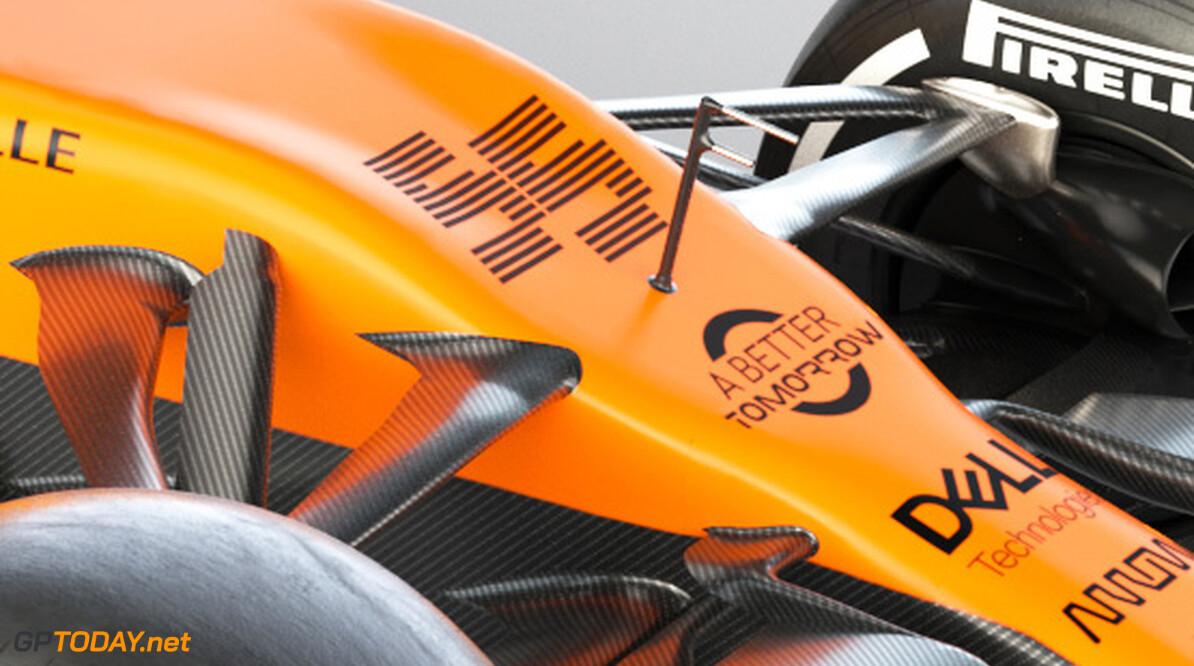 2020 MCL35 Carlos Sainz_3Q BAT branded      MCL35 2020 papaya vega mclaren Carlos sainz 55 racing car launch partners