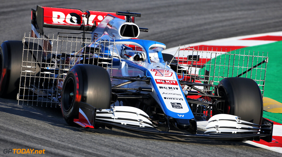Russell encouraged by 'much better' Williams car