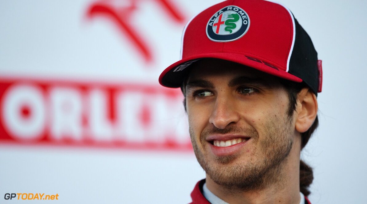 Giovinazzi joins the grid for F1's upcoming Virtual GP