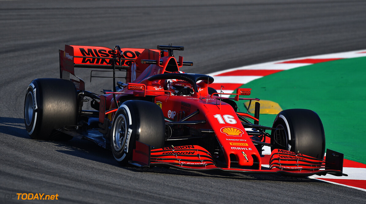 TEST T1 BARCELLONA 2020 - MERCOLED?  19/02/2020    COLOMBO IMAGES BARCELLONA SPAGNA