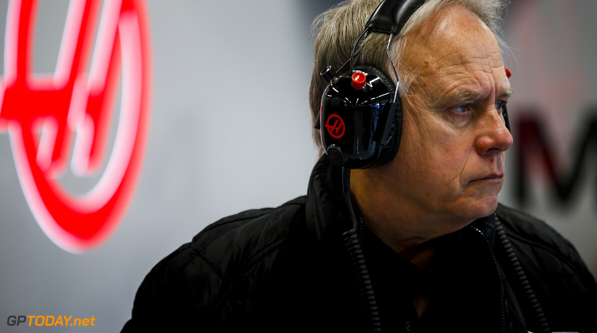 2020 Barcelona February testing I CIRCUIT DE BARCELONA-CATALUNYA, SPAIN - FEBRUARY 19: Gene Haas, Owner and Founder, Haas F1 in the garage during the Barcelona February testing I at Circuit de Barcelona-Catalunya on February 19, 2020 in Circuit de Barcelona-Catalunya, Spain. (Photo by Andy Hone / LAT Images) 2020 Barcelona February testing I Andy Hone  Spain  portrait