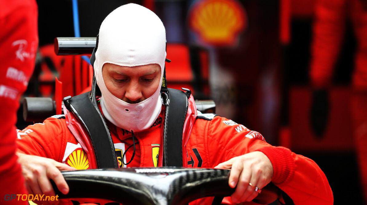 Vettel sluit vertrek bij Ferrari niet uit