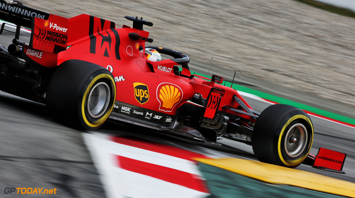 Vettel leads morning session, Verstappen spins out
