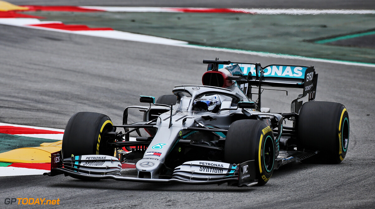 Bottas ends pre-season testing on top for Mercedes