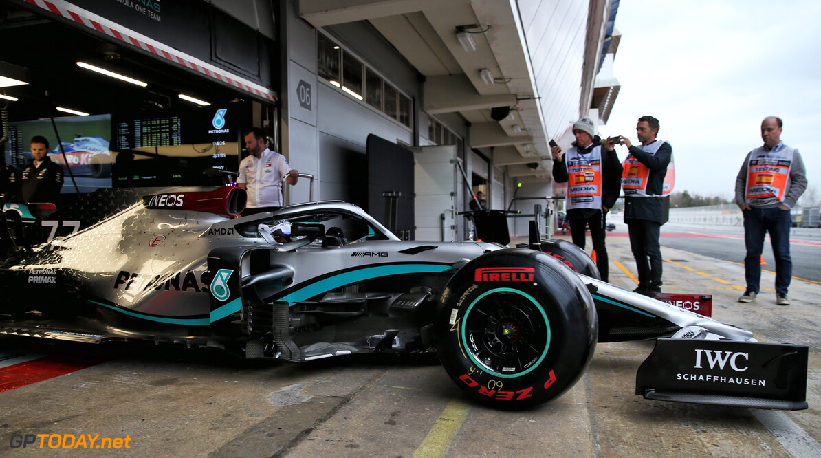 Bottas anticipating Melbourne challenge from Ferrari and Red Bull
