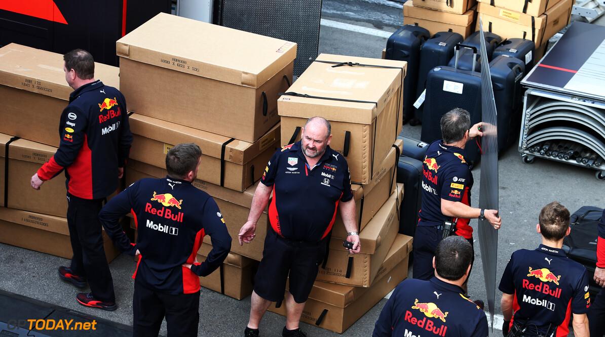 Red Bull Racing annuleert alle bezoeken aan fabriek tot en met 30 april