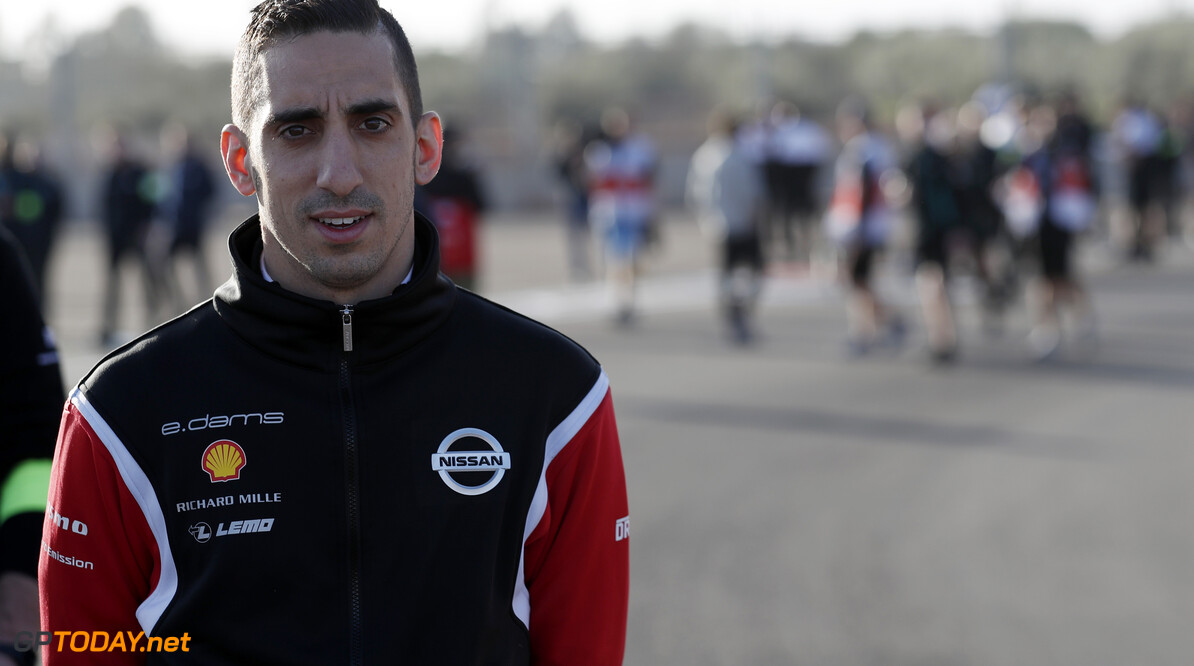 S?bastien Buemi (CHE), Nissan e.Dams, on his track walk  Sam Bloxham    trackwalk TS-Live