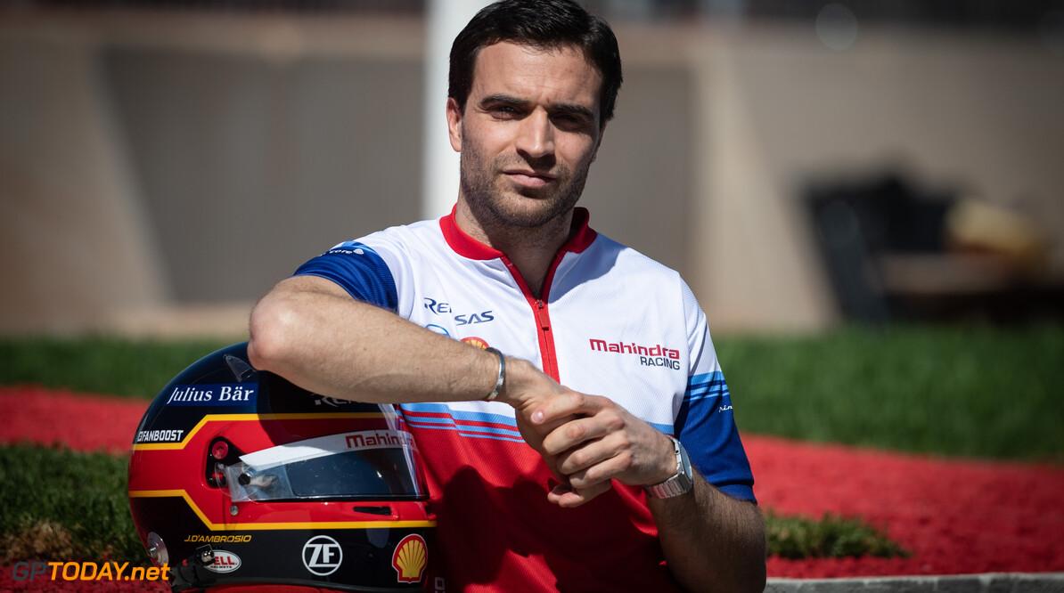 J?r?me d'Ambrosio (BEL), Mahindra Racing   Simon Galloway    portrait TS-Live