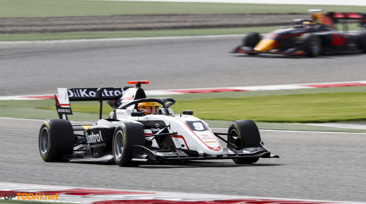 FIA Formula 3 BAHRAIN INTERNATIONAL CIRCUIT, BAHRAIN - MARCH 01: Sebastian Fernandez (ESP, ART GRAND PRIX) during the Test 1 - Bahrain at Bahrain International Circuit on March 01, 2020 in Bahrain International Circuit, Bahrain. (Photo by Carl Bingham / LAT Images / FIA F3 Championship) FIA Formula 3 Carl Bingham  Bahrain  action