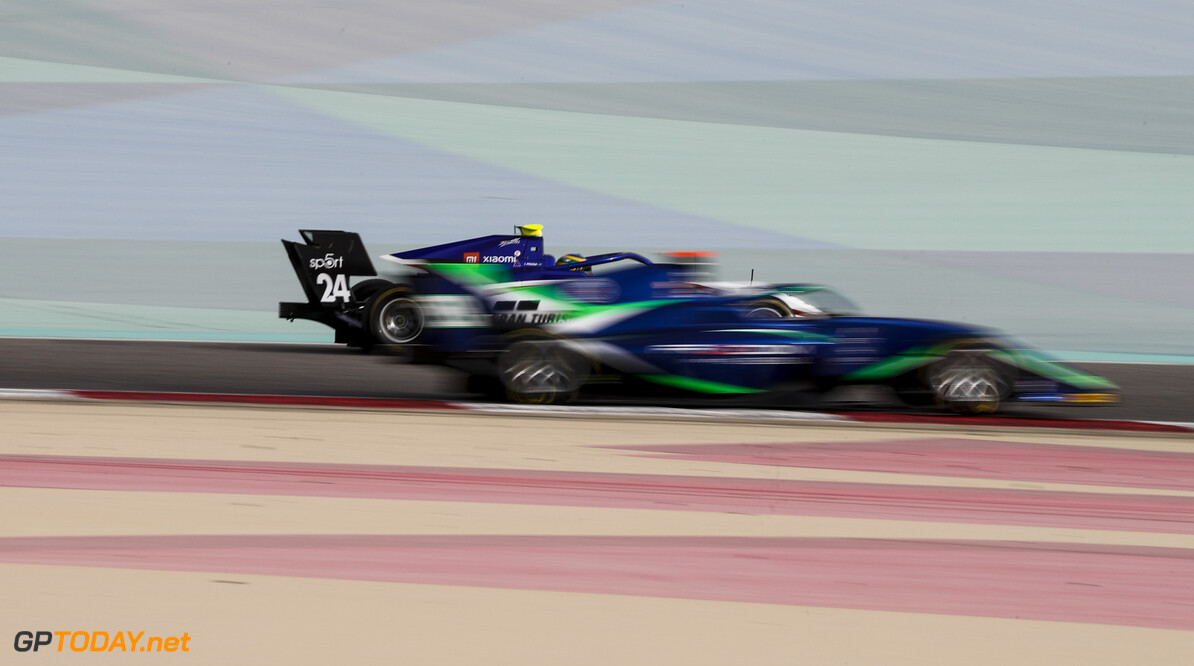 FIA Formula 3 BAHRAIN INTERNATIONAL CIRCUIT, BAHRAIN - MARCH 01: Igor Fraga (BRA, CHAROUZ RACING SYSTEM) during the Test 1 - Bahrain at Bahrain International Circuit on March 01, 2020 in Bahrain International Circuit, Bahrain. (Photo by Carl Bingham / LAT Images / FIA F3 Championship) FIA Formula 3 Carl Bingham  Bahrain  action