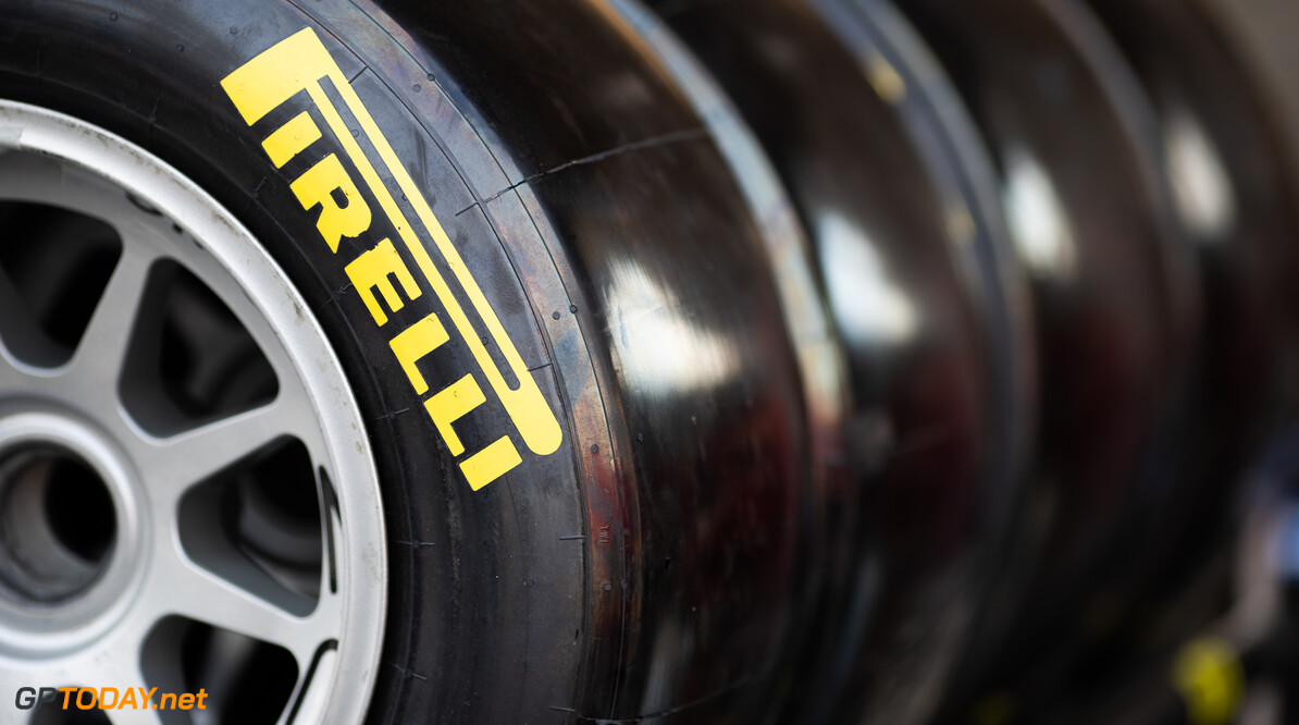 FIA Formula 3 BAHRAIN INTERNATIONAL CIRCUIT, BAHRAIN - MARCH 01: Pirelli Tyres during the Test 1 - Bahrain at Bahrain International Circuit on March 01, 2020 in Bahrain International Circuit, Bahrain. (Photo by Joe Portlock / LAT Images / FIA F3 Championship) FIA Formula 3 Joe Portlock  Bahrain  FIA Formula 3 portraits Sunday