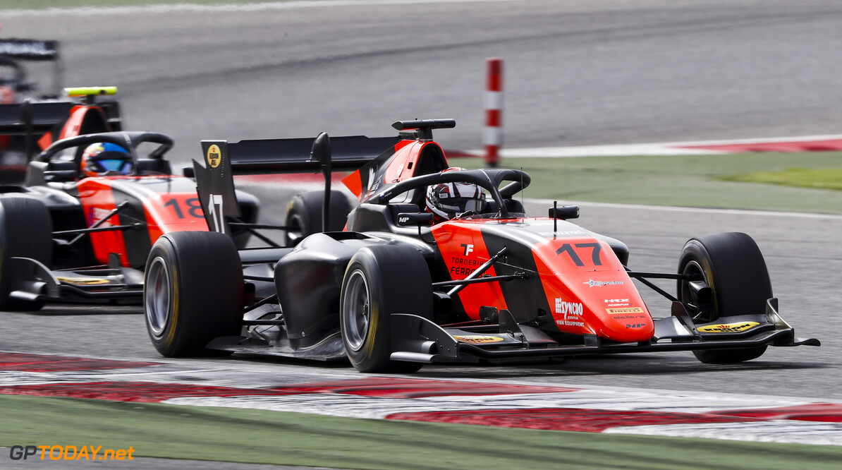 FIA Formula 3 BAHRAIN INTERNATIONAL CIRCUIT, BAHRAIN - MARCH 01: Richard Verschoor (NLD, MP MOTORSPORT) during the Test 1 - Bahrain at Bahrain International Circuit on March 01, 2020 in Bahrain International Circuit, Bahrain. (Photo by Carl Bingham / LAT Images / FIA F3 Championship) FIA Formula 3 Carl Bingham  Bahrain  action