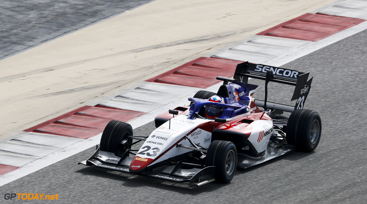 FIA Formula 3 BAHRAIN INTERNATIONAL CIRCUIT, BAHRAIN - MARCH 01: Niko Kari (FIN, CHAROUZ RACING SYSTEM) during the Test 1 - Bahrain at Bahrain International Circuit on March 01, 2020 in Bahrain International Circuit, Bahrain. (Photo by Carl Bingham / LAT Images / FIA F3 Championship) FIA Formula 3 Carl Bingham  Bahrain  action
