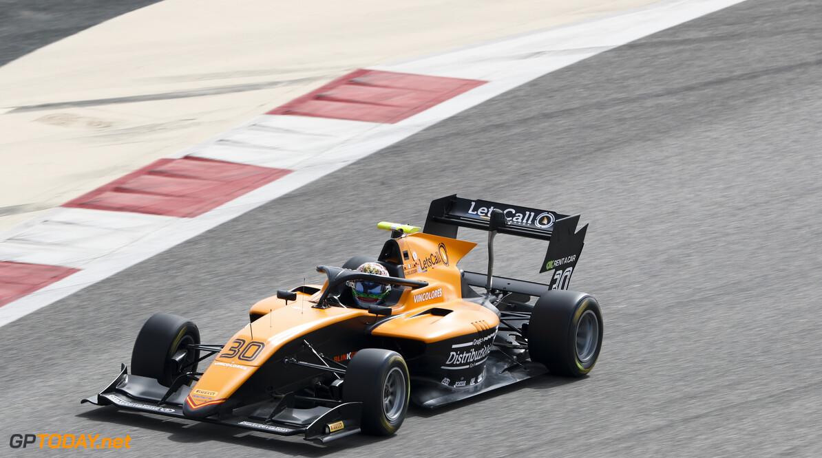 FIA Formula 3  FIA Formula 3 Carl Bingham  Bahrain  action