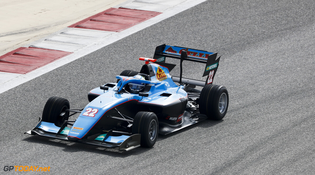 FIA Formula 3 BAHRAIN INTERNATIONAL CIRCUIT, BAHRAIN - MARCH 01: Matteo Nannini (ITA, JENZER MOTORSPORT) during the Test 1 - Bahrain at Bahrain International Circuit on March 01, 2020 in Bahrain International Circuit, Bahrain. (Photo by Carl Bingham / LAT Images / FIA F3 Championship) FIA Formula 3 Carl Bingham  Bahrain  action