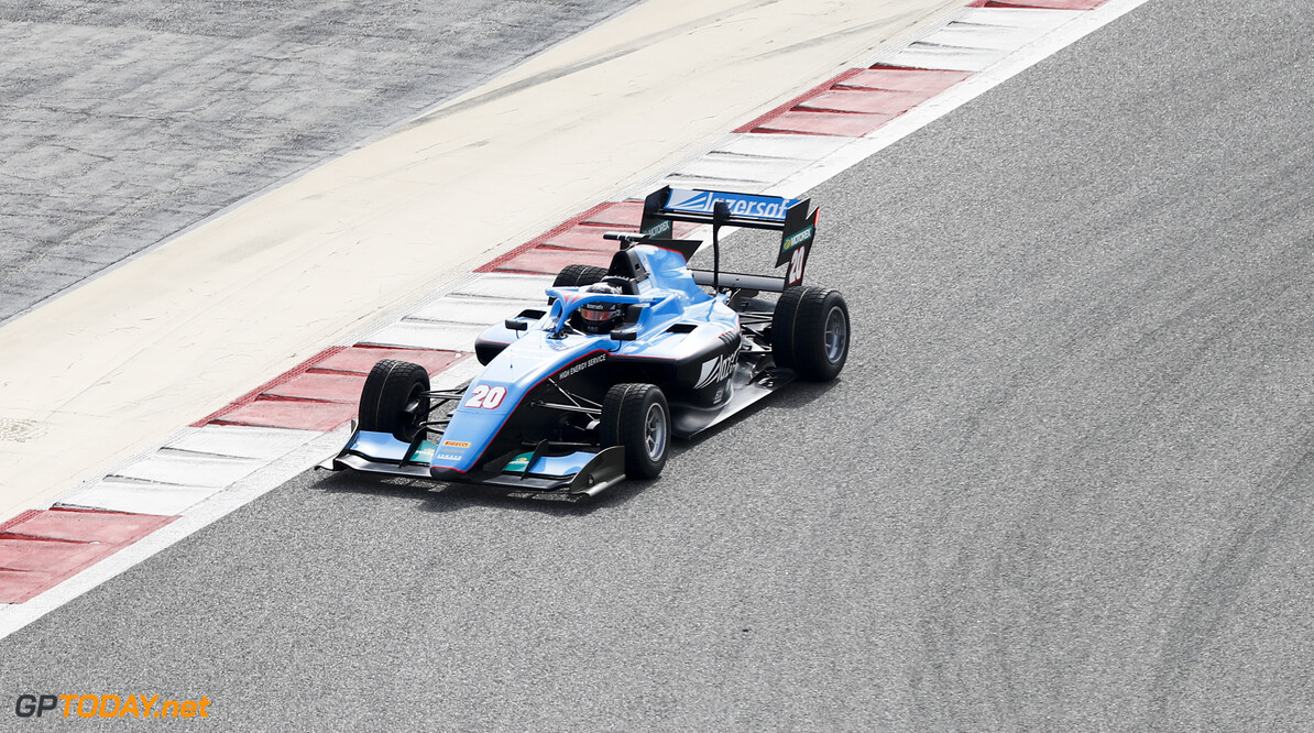 FIA Formula 3 BAHRAIN INTERNATIONAL CIRCUIT, BAHRAIN - MARCH 01: Calan Williams (AUS, JENZER MOTORSPORT) during the Test 1 - Bahrain at Bahrain International Circuit on March 01, 2020 in Bahrain International Circuit, Bahrain. (Photo by Carl Bingham / LAT Images / FIA F3 Championship) FIA Formula 3 Carl Bingham  Bahrain  action