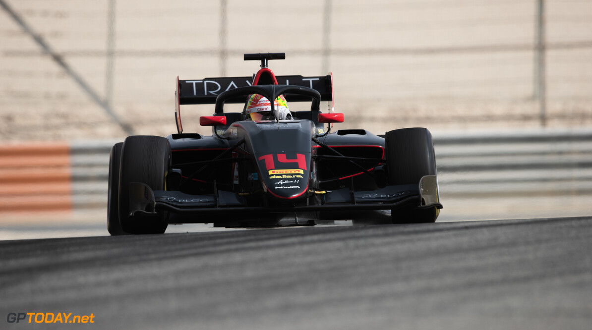 FIA Formula 3 BAHRAIN INTERNATIONAL CIRCUIT, BAHRAIN - MARCH 02: Enzo Fittipaldi (BRA, HWA RACELAB) during the Test 1 - Bahrain at Bahrain International Circuit on March 02, 2020 in Bahrain International Circuit, Bahrain. (Photo by Joe Portlock / LAT Images / FIA F3 Championship) FIA Formula 3 Joe Portlock  Bahrain  FIA Formula 3 action Monday