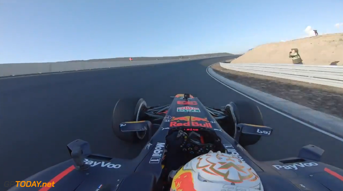 <b>Video:</b> Onboard an F1 lap of Zandvoort with Max Verstappen
