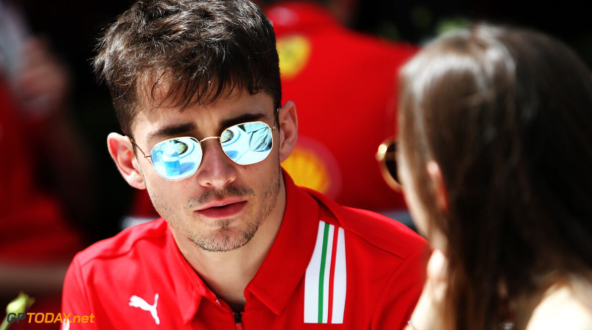 Leclerc laments F1's absence following virtual victory