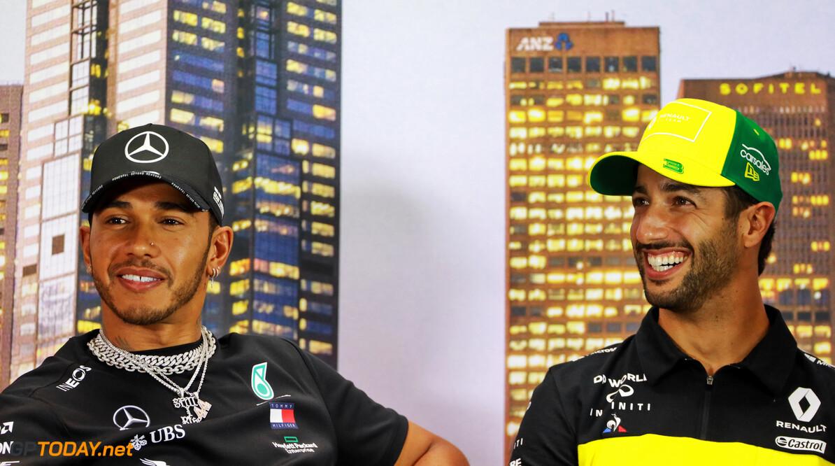 Ricciardo: Hamilton's consistent success in F1 'warrants respect'