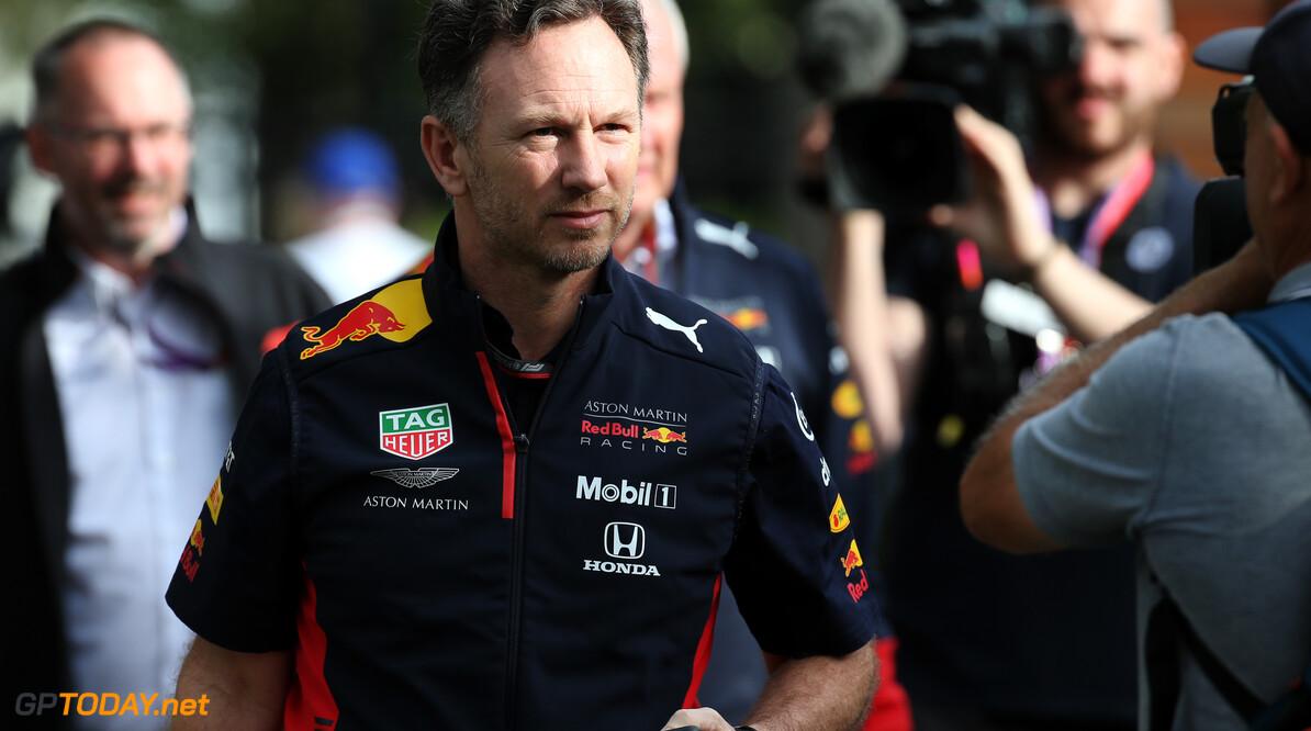 """Christian Horner: """"FIA en gezondheidsautoriteiten gaven ons groen licht om te racen"""""""