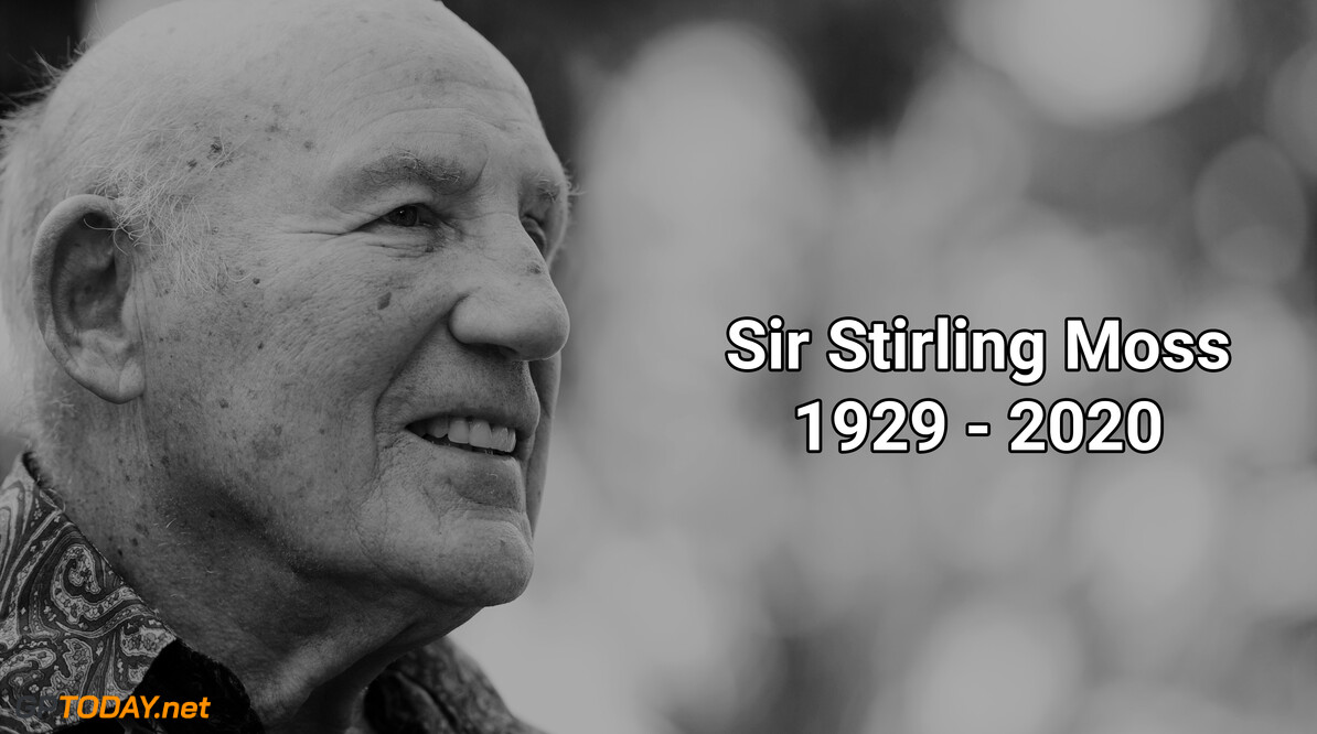 Tributes made to the deceased Sir Stirling Moss