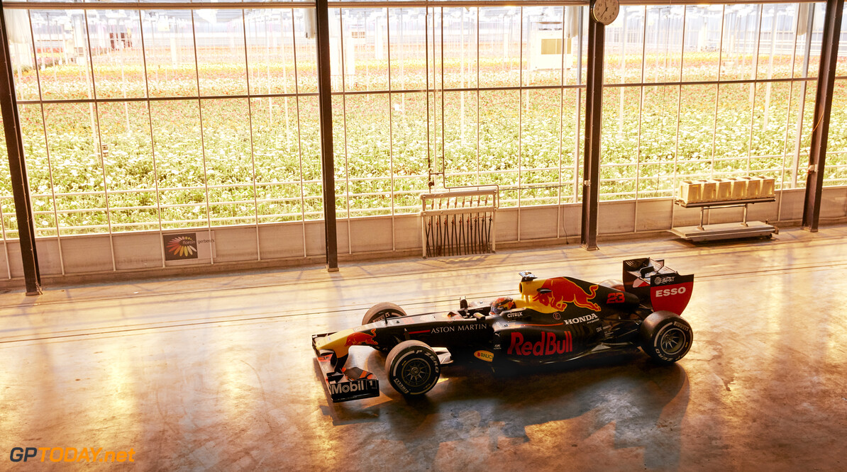 Alexander Albon performs during The Dutch Roadtrip in Naaldwijk, Netherlands on January 26, 2020 // Rob Smalley / Red Bull Content Pool // AP-23W2NCNV11W12 // Usage for editorial use only //  Alexander Albon     AP-23W2NCNV11W12