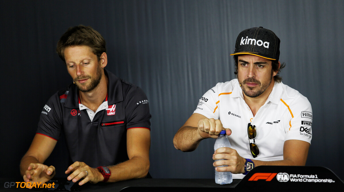 Grosjean sees pros and cons in Alonso's potential return to F1