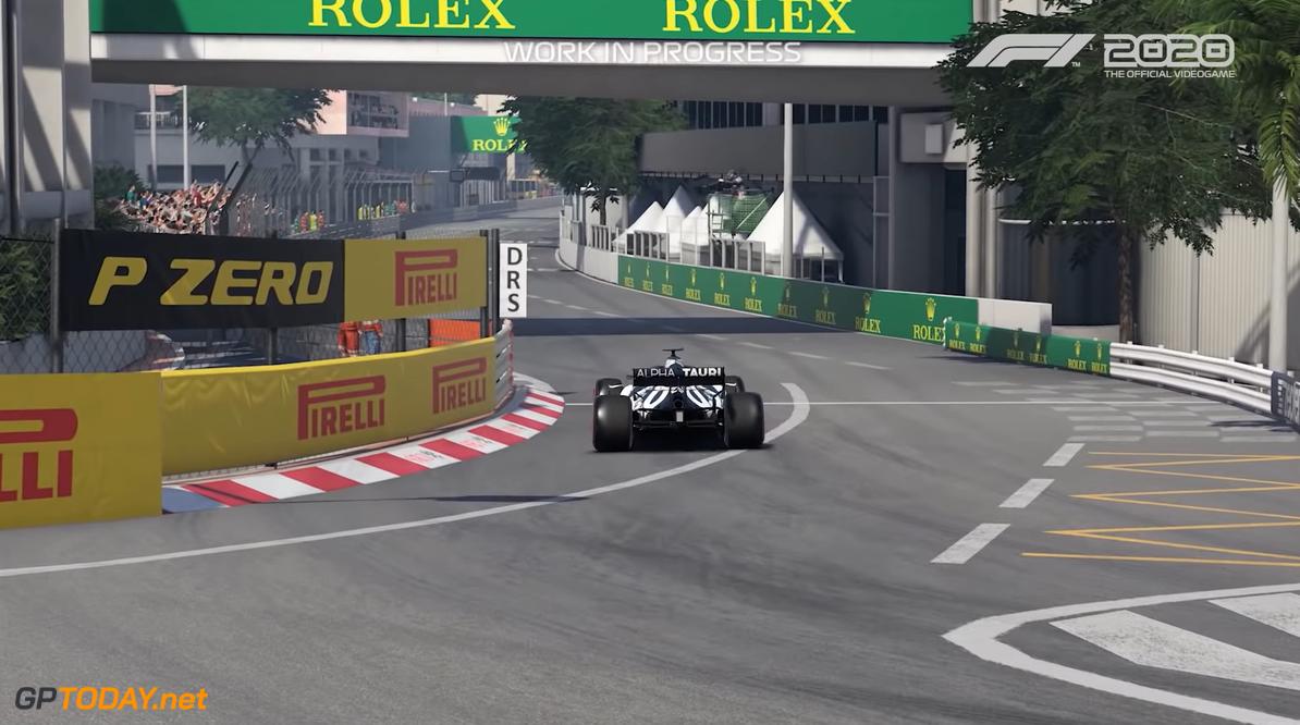 <b>Video:</b> Zo ziet een rondje Monaco eruit in de game F1 2020