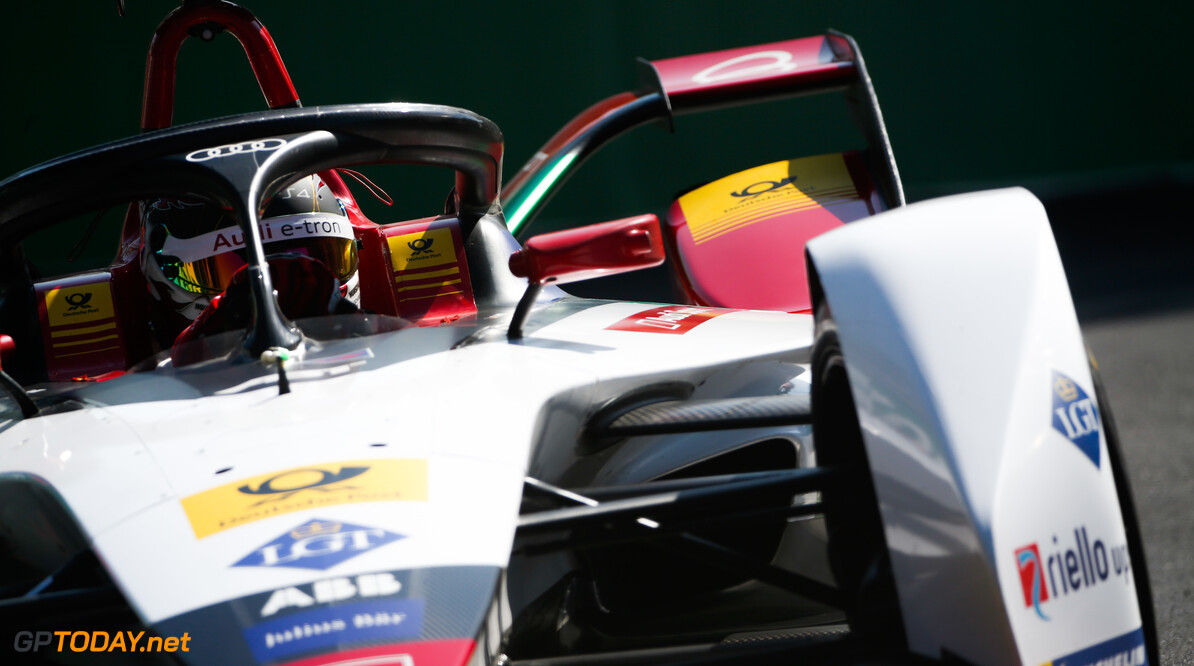 2018 Santiago E-prix PARQUE O'HIGGINS CIRCUIT, CHILE - JANUARY 26: Daniel Abt (DEU), Audi Sport ABT Schaeffler, Audi e-tron FE05 during the Santiago E-prix at Parque O'Higgins Circuit on January 26, 2019 in Parque O'Higgins Circuit, Chile. (Photo by Joe Portlock / LAT Images) 2018 Santiago E-prix Joe Portlock  Chile  action electric fe
