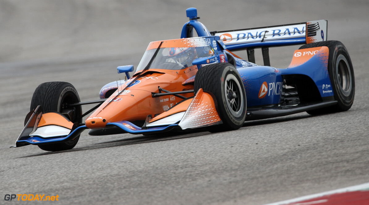 1205827076 AUSTIN, TEXAS - FEBRUARY 12: Scott Dixon, driver of the #9 PNC Bank Chip Ganassi Racing Honda, drives during NTT IndyCar Series testing at Circuit of The Americas on February 12, 2020 in Austin, Texas. (Photo by Chris Graythen/Getty Images) 2020 NTT IndyCar Series Testing Chris Graythen Austin United States  02122020400GraythenRequest