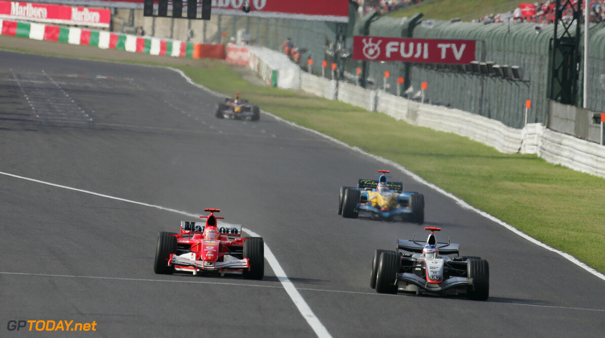 F1 to stream the 2005 Japanese Grand Prix on Wednesday
