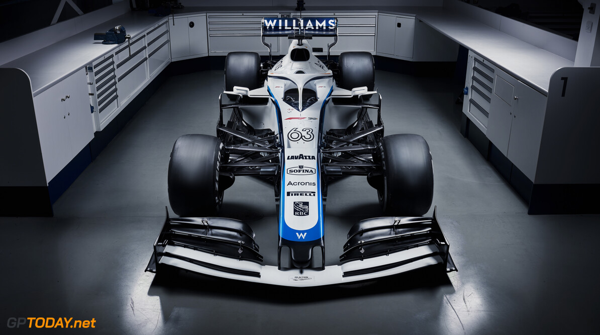 Williams Racing 2020 Livery George Russell's Williams Racing 2020 Livery Williams Racing 2020 Livery Williams Racing    23 07 7 2020 F1 Formula 1 Formula One car