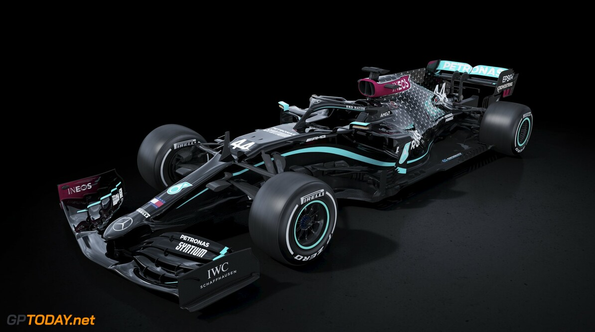 Mercedes to run all-black base livery for 2020 season